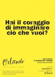 ORLANDOE IL CORAGGIO di Mauro Danesi